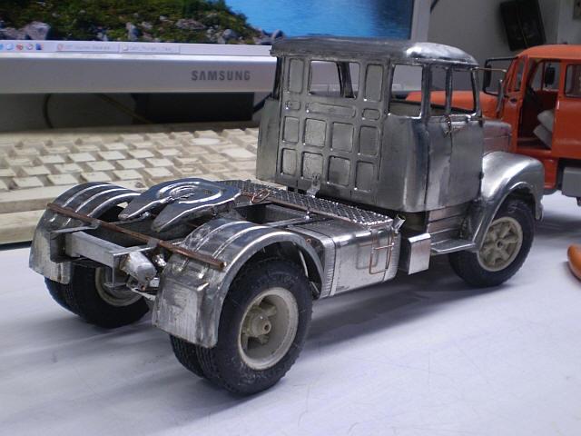 travisscave: Classic Scania Truck 1:25 scale - Metal ...